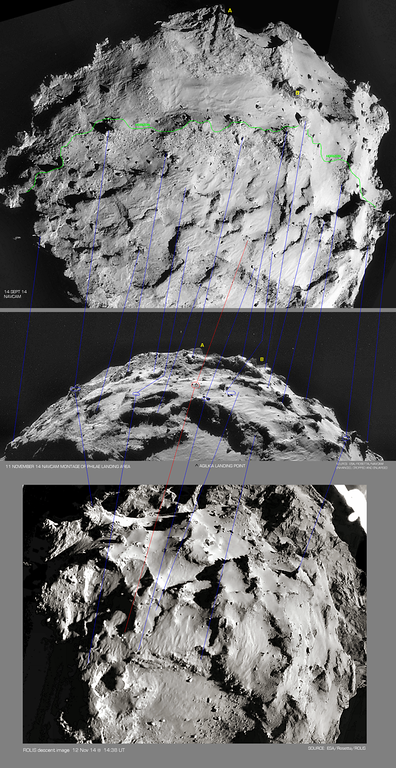 "Updated ""Sightseeing"" Map for Philae"